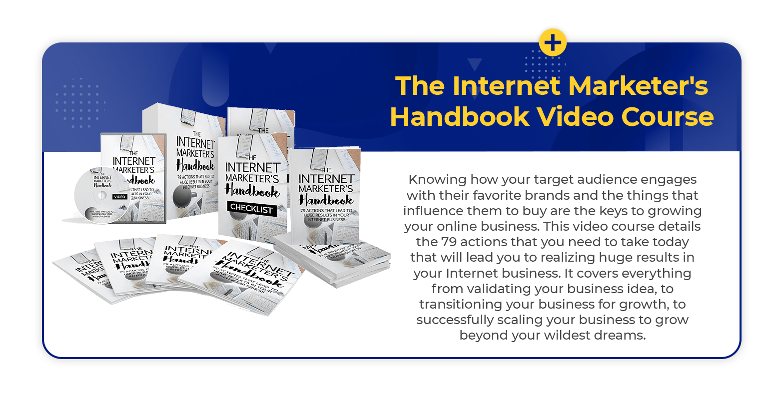 Internet marketing video course